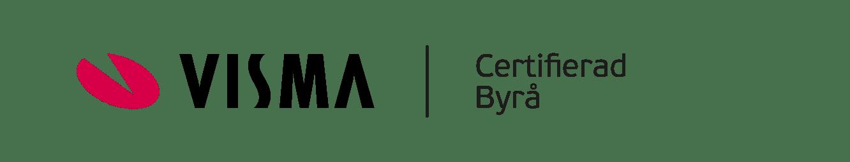 Visma certifierad bokföringbyrå